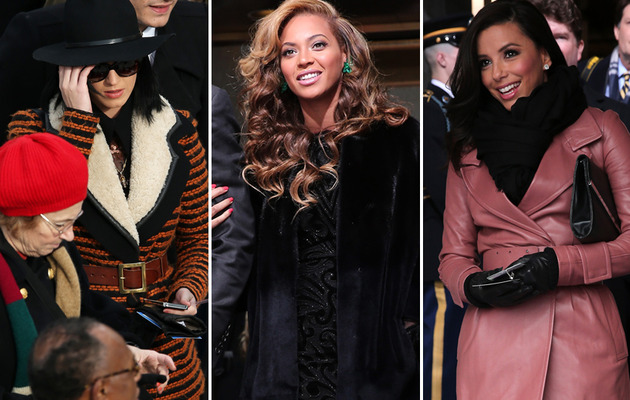 Beyonce, Katy Perry & More at Obama's Inauguration Ceremony