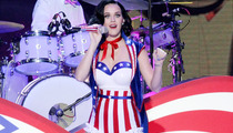Katy Perry Shows Off Her Patriotic Pride & Curves!