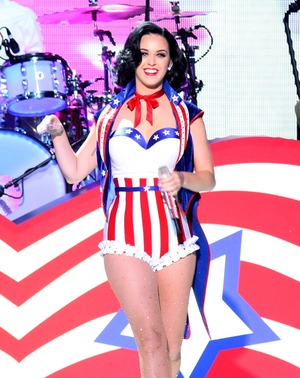 Katy Perry's Sexy Patriotic Pics