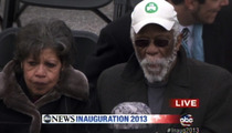 George Stephanopoulos -- Wait, That Guy's NOT Morgan Freeman?