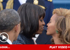 Michelle Obama & Beyonce -- Near-Kiss Pic Inspires America