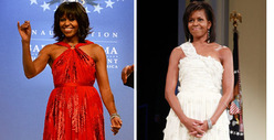 Michelle Obama -- Inaugural Ball Gown Battle: Who&#039;d You Rather?