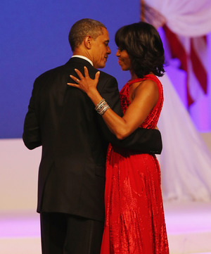 Barack and Michelle Obama -- Ballin'!