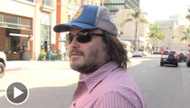 Flu-Ridden Jack Black - On The Deadliest Street In America