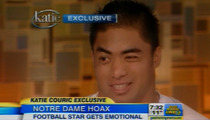 Manti Te'o to Katie Couric -- I Lied ... But You'd Do the Same!