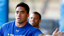 Manti Te'o -- I Brought My Imaginary GF to Football Practice