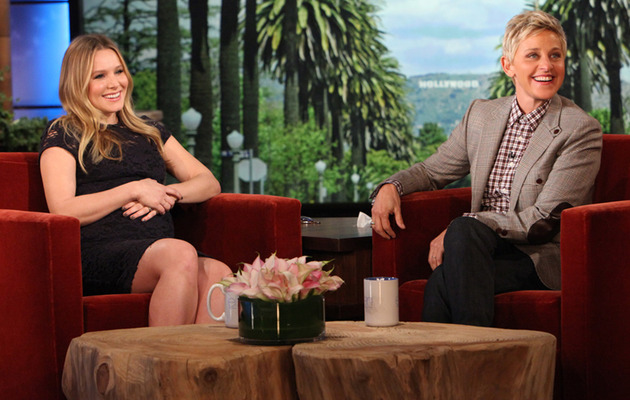 "Kristen Bell on Giving Birth: ""I've Got Nothing to Prove!"""