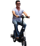 Celebrities on Scooters: Real Men Ride Scooters