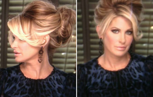Kim Zolciak Shows Off Her Real Hair ... in a Chic New Updo!