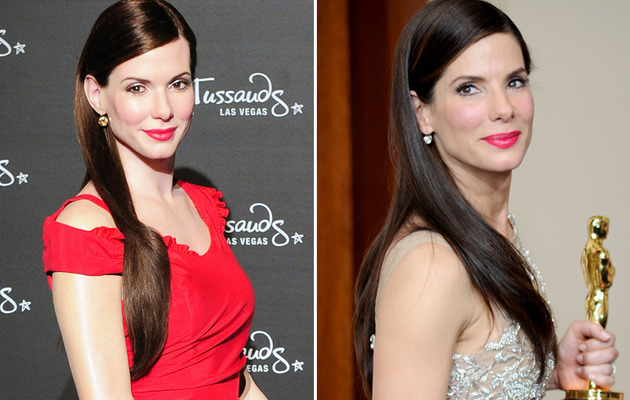 Sandra Bullock Wax Figure: See The Eerie Likeness!