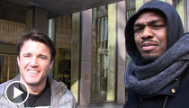 UFC Stars Jon Jones & Chael Sonnen -- Laugh Today ... Bleed Tomorrow