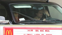 Sean Stewart & Adrienne Maloof -- Lunch Date at Mickey D's