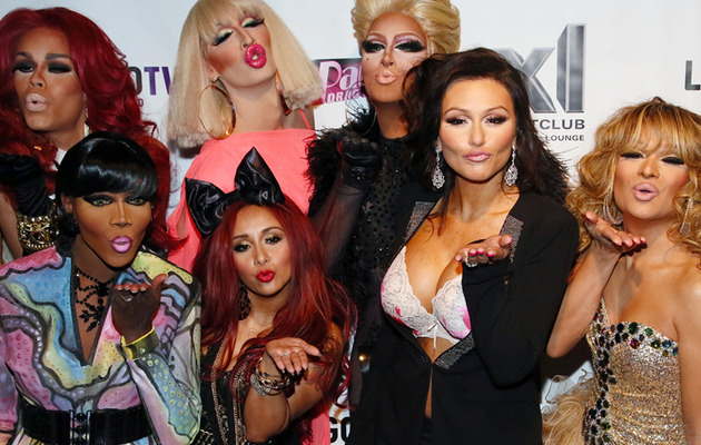 "Snooki & Jwoww Party with ""RuPaul's Drag Race"" Cast!"