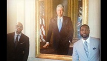 LeBron James & Dwyane Wade -- Bill Clinton's an Honorary Brother