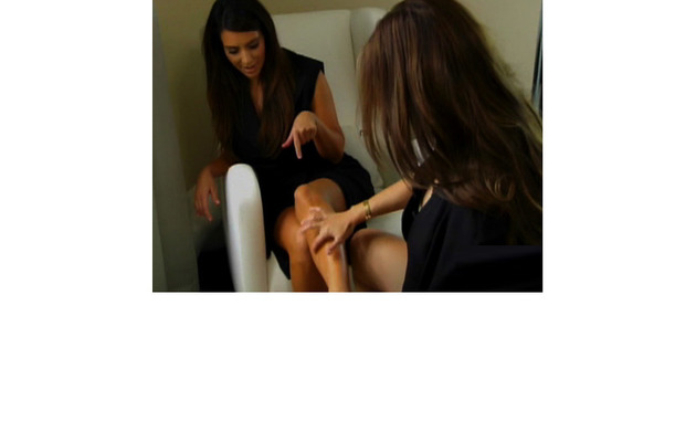 Kourtney Kardashian Squirts Breast Milk on Kim!
