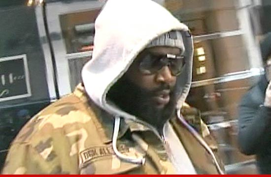Just In: Rick Ross escapes shooting, crashes Rolls-Royce (See Photos)