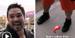 Dean Cain -- A Hug From LeBron James Is Worth More than $75k