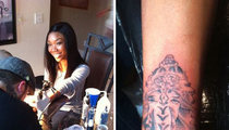 Brandy's New Tat -- Hung Like an Elephant