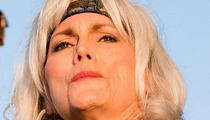 Emmylou Harris -- Charged with Hit-and-Run After Freeway Accident