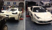 Justin Bieber -- Four Seasons Foots HUGE Ferrari Repair Bill