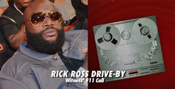 Rick Ross 911 Call -- 'I Just Heard a Bunch of Gunshots'