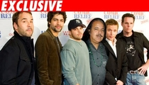 'Entourage' Holed Up in Porn Star's Pad