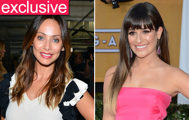 "Exclusive: Natalie Imbruglia on Lea Michele's ""Glee"" Cover"