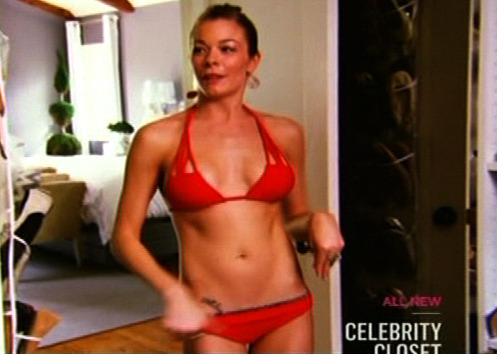 LeAnn Rimes: Back In a Bikini for TV Show Appearance