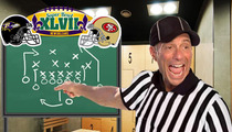 Harvey Levin Picks NFL Winner -- Ray Lewis Is Gonna Be Pissed!!