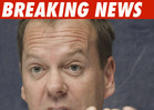 Topless Kiefer Sutherland Tossed from Strip Club