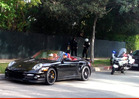 Chris Brown -- PULLED OVER for Speeding in Beverly Hills