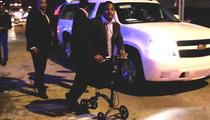 Maurice Jones-Drew -- Injured NFL Star Wheels His Way Around New Orleans