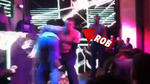 Rob Gronkowski -- Vegas WRESTLING with Broken Forearm