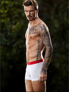 David Beckham Shares New H&amp;M Underwear Shots