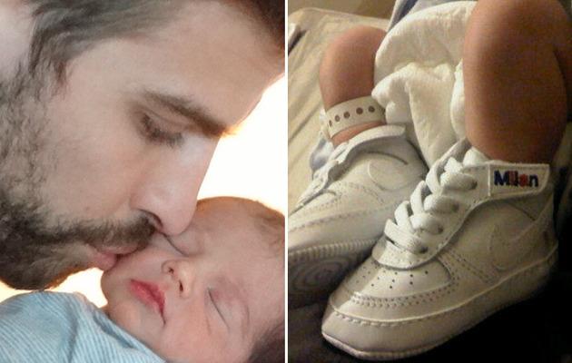 Meet Shakira's Baby Boy Milan!