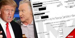 Donald Trump Sues Bill Maher for $5 Million -- I PROVED I'm Not Part-Orangutan
