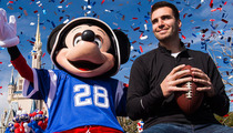 Joe Flacco's Post-Super Bowl Date with Mickey Mouse