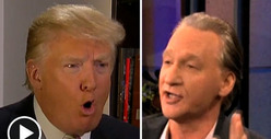 Donald Trump vs. Bill Maher -- Going Ape ... Over $5 Million Lawsuit!!