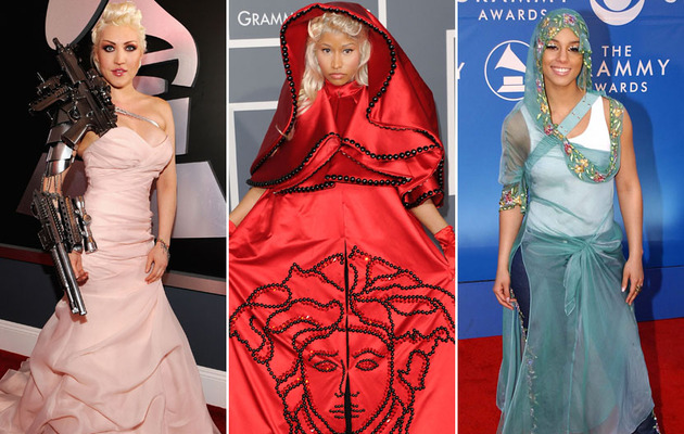 The Worst Dressed Stars of Grammy's Past!