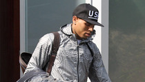 Chris Brown Hustles to Courthouse -- So Fresh and So Clean Clean