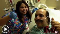 Ron Jeremy Calls From Hospital Bed -- I'm Lucky to Be Alive!!!