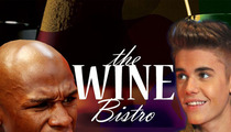 Floyd Mayweather Sues Wine Bar -- You Lied about Me and Justin Bieber!