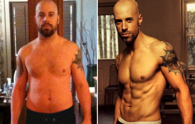 Chris Daughtry: Sexy & Shirtless After Weight Loss
