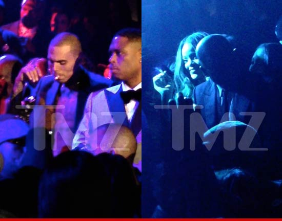 Chris Brown & Rihanna smoking weed?