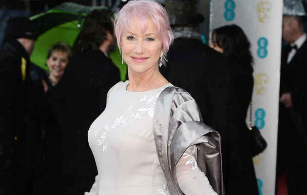 Helen Mirren Dyes Her Hair Pink