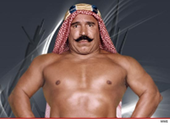 Sheik isn't just a WWE legend  he's also a veteran Olympic wrestler