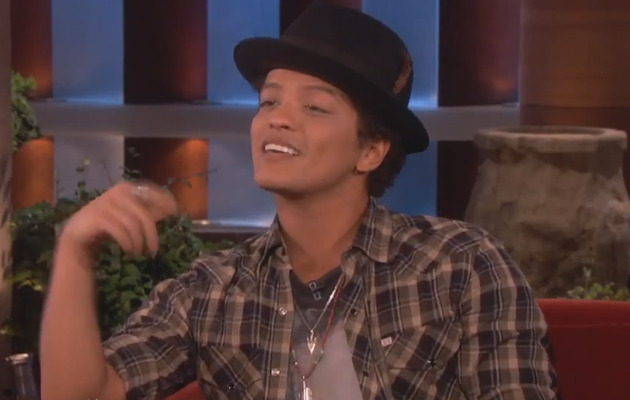 Bruno Mars Makes A Fan's Dream Come True!