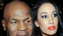 Mike Tyson's Wife -- HOSPITALIZED ... Severe Stomach Pains