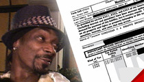 Snoop Dogg -- Sippin' On Gin & $546,000 Tax Lien