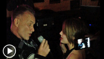 Sting Goes Full Cannibal at Malibu Karaoke Jam